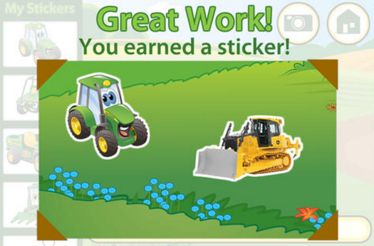 Johnny Tractor Stickers