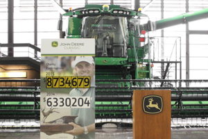 The annual Birdies for Charity program kicked off April 11 at the John Deere Headquarters.