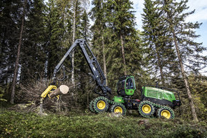 The G-Series, which has been popular among loggers in Europe, is now available to those working in North America.