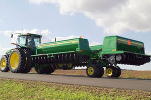 Automobile drivers and farm equipment operators are urged to practice caution on the roads during the planting season.