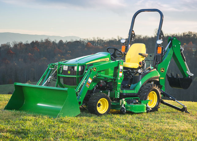 John Deere 1025r : Defining features of the john deere r sub compact