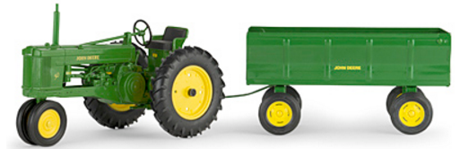 John Deere 50 with Flarebox