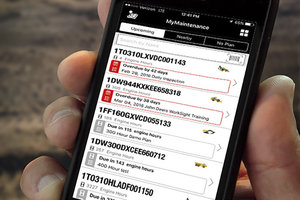 The MyMaintenance mobile app is designed to take preventative maintenance to the next level for construction managers.