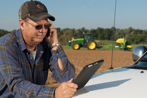 By posting crop disease updates and photos to Twitter, farmers could become more aware of threats in their area.