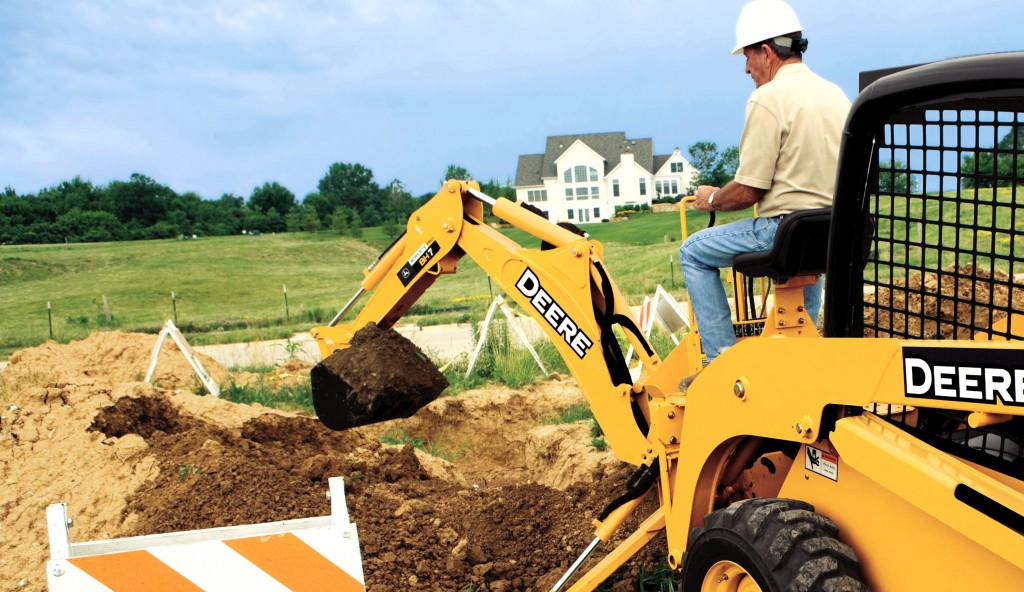John Deere Backhoe Attachment