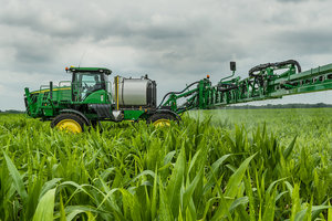 Deere's new row guidance additions will help producers track more accurately between rows.