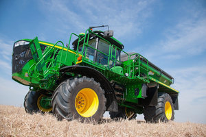 The new John Deere F4365 is designed to help producers make the most of short application seasons.