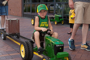 John Deere Learn & Play Day gives kids an opportunity to live a day in the life of John Deere customers.