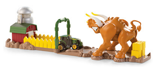 John Deere Mighty Movers Bullpen Excape Playset