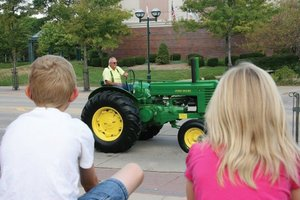 Antique tractors will once again flood the streets of Moline for the 2016 Heritage Tractor Parade and Show.