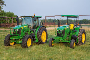 The 6E Series is heralded for its handling of jobs around dairy or beef farms.