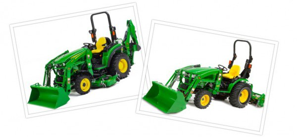 A Look at John Deere's New 2032R, 2038R and 3025E Tractors