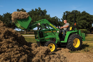 The new John Deere 3025E has the capabilities to take on tough jobs.