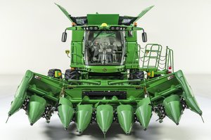 Producers will be able to spend more time in the fields and less time transporting with the new 608FC Corn Head.