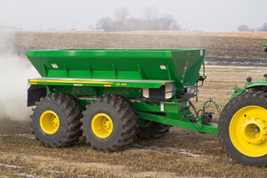 John Deere will be one of many equipment manufacturers on hand at the Big Iron Farm Show to display their latest equipment.