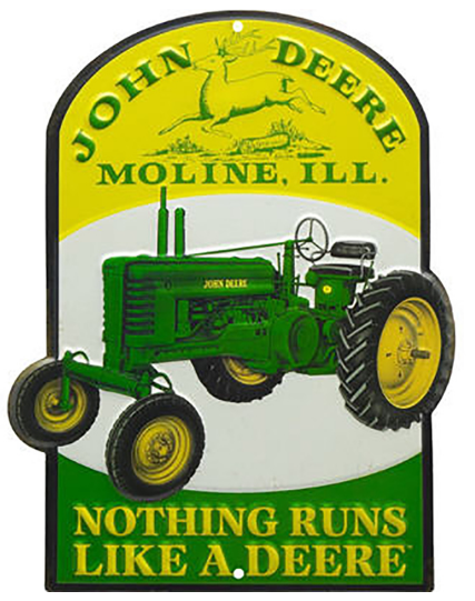 nothing-runs-like-a-deere-tin-sign