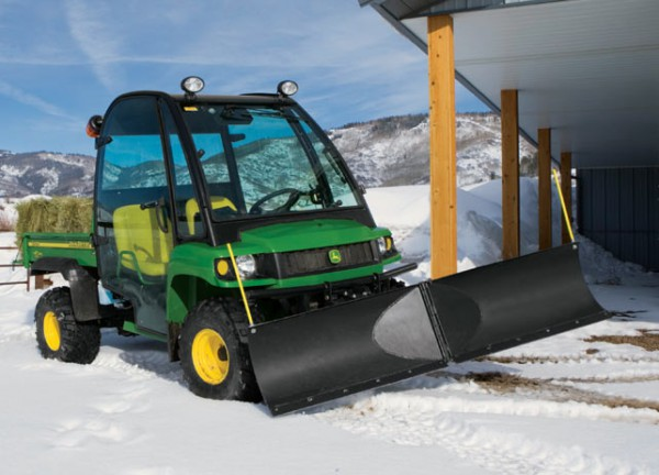 John Deere 100 Series >> John Deere Gator Snow Blade Options for Clearing a Path