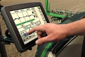 Precision agriculture technologies are widely used on large corn farms across the country.