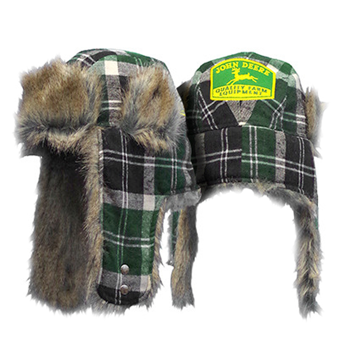 plaid-trapper-vintage-logo-hat