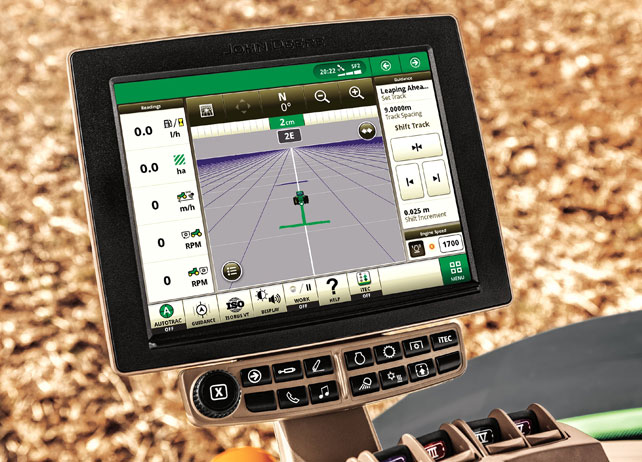 Precision ag display