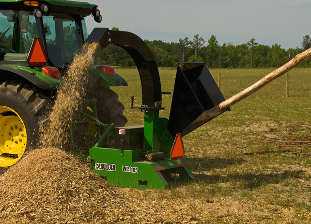 John Deere Wood Chipper