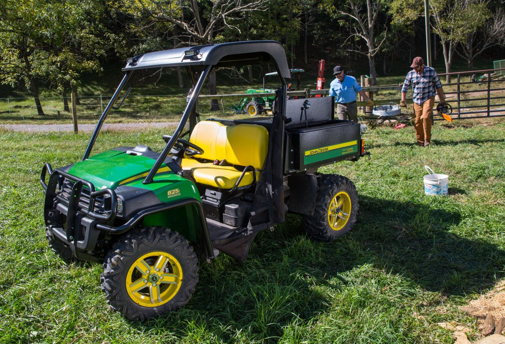 John Deere Gator on Ranch