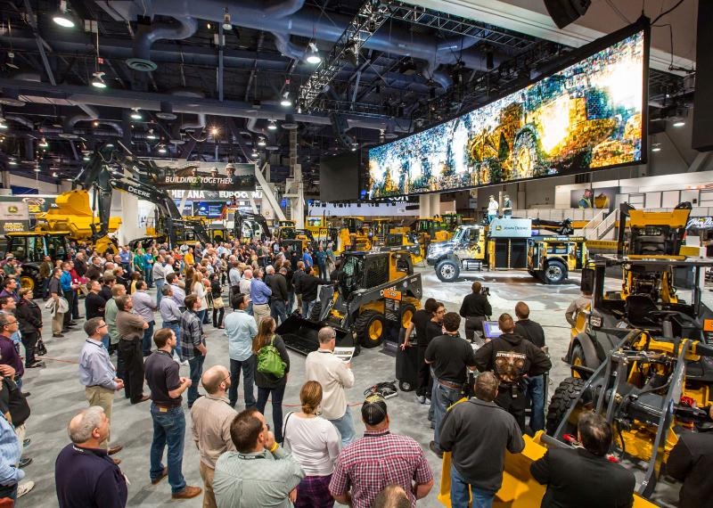 John Deere At Conexpo Con Agg 2017 What To Expect