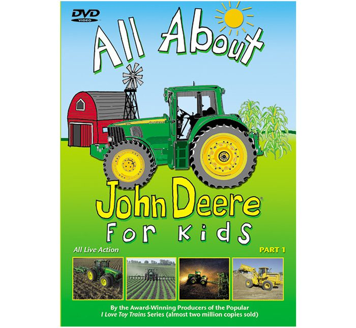 All About John Deere for Kids DVD