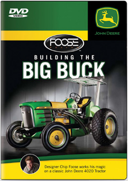John Deere Building the Big Buck DVD