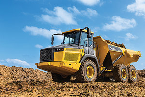 Deere worked closely with road builders and site developers to ensure the new ADT models meet their needs.