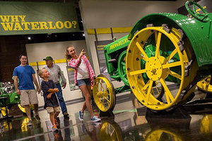 The John Deere Tractor & Engine Museum has been a popular attraction for families and tractor enthusiasts since opening to the public in 2015.