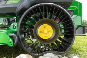 Local John Deere dealers are now offering the MICHELIN X TWEEL TURF tires for standalone purchase.