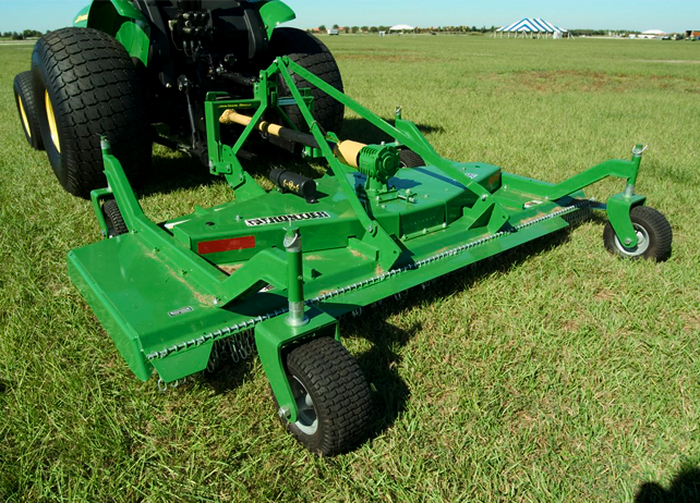 What Is A Grooming Mower And How Should It Be Used
