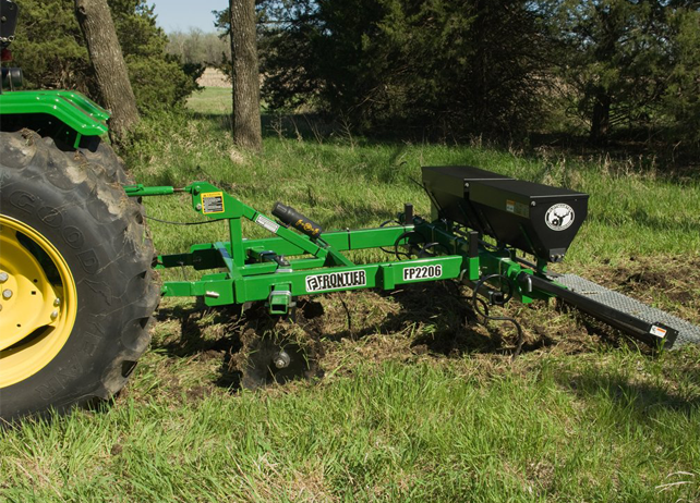 8 Frontier Food Plot Seeder Features that Simplify Tillage