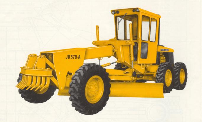 JD570 Motor Grader