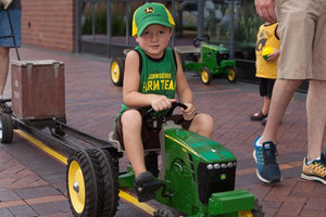 Kids will have an opportunity to participate in a pedal-powered tractor pull at the Farm Fun Day.