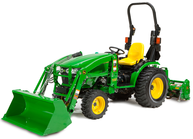 John Deere 2032R Attachments