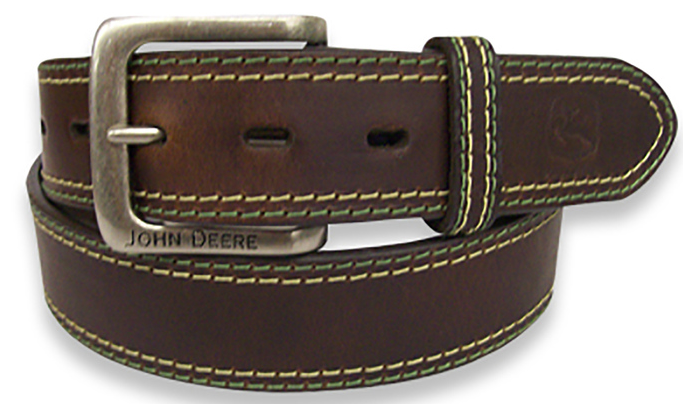 Color Stitch John Deere Belt