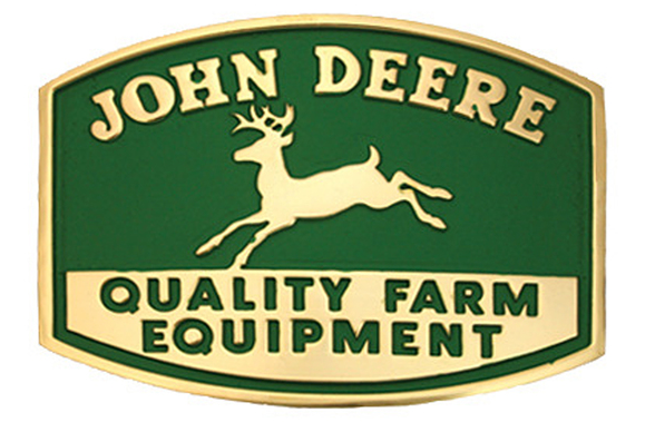 John Deere Equipment Cast Buckle