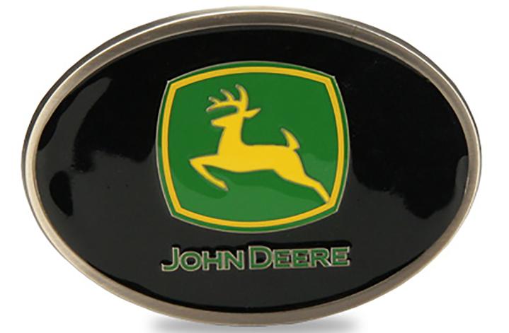 John Deere Pewter Buckle