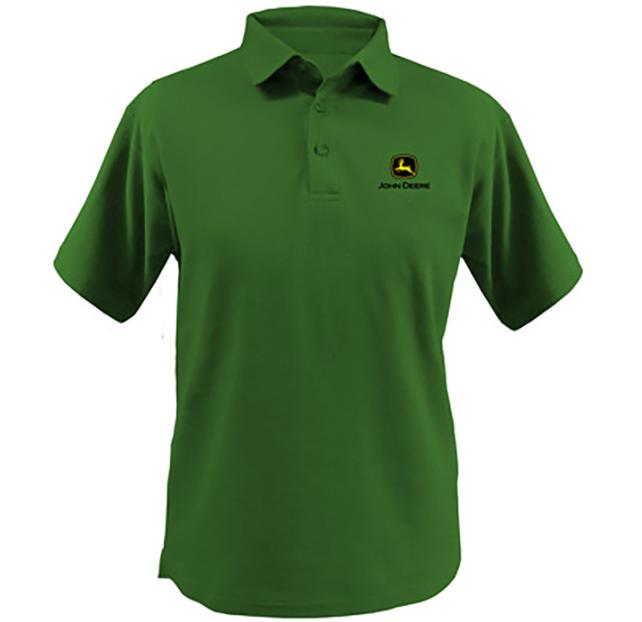 John Deere Men's Polo Golf Shirt