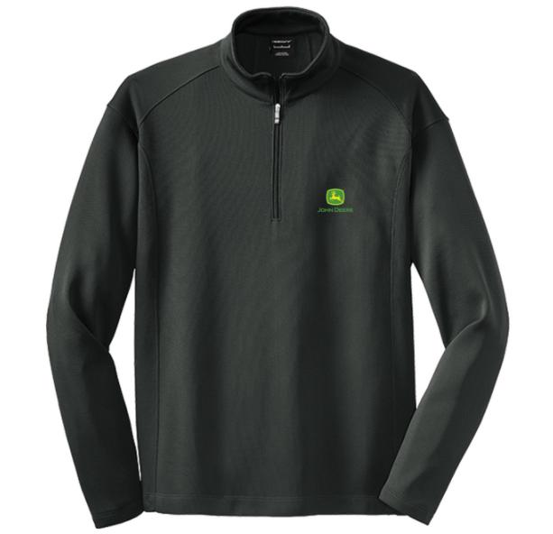 John Deere Men's Golf Pullover