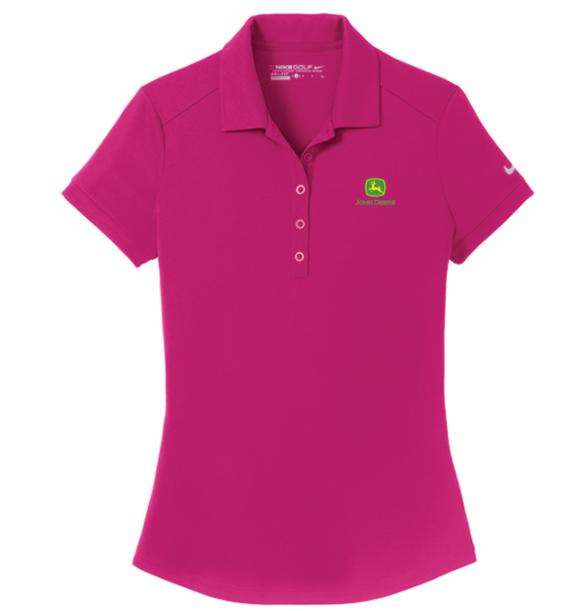 John Deere Ladies Golf Dri-FIT Polo