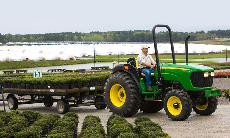 John Deere Tractor ROPS