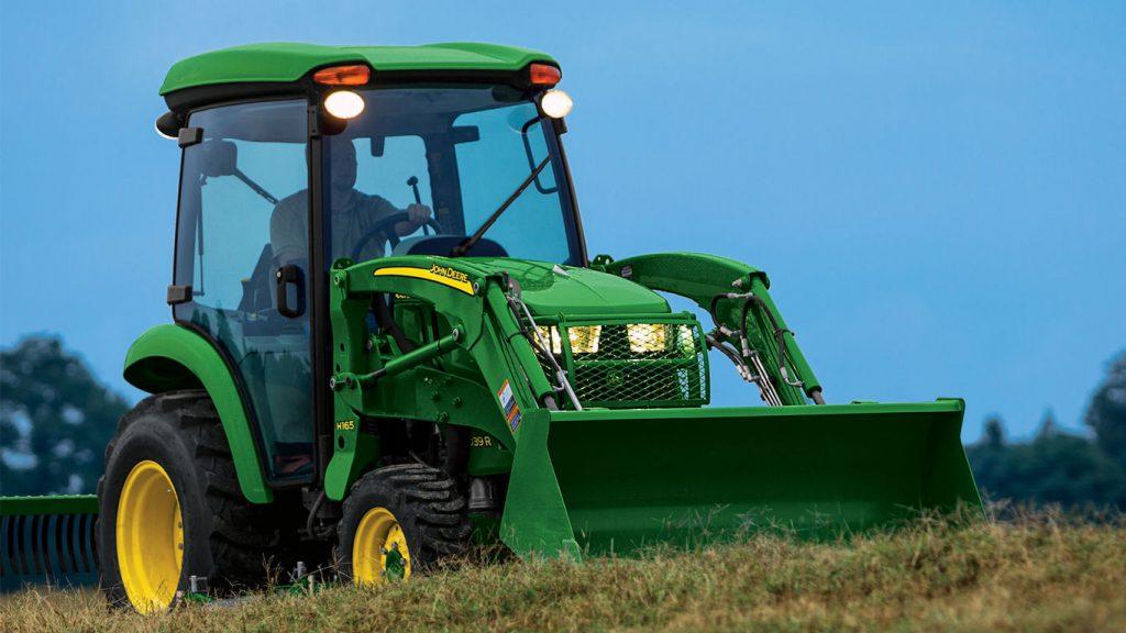 John Deere Utility Tractor ROPS