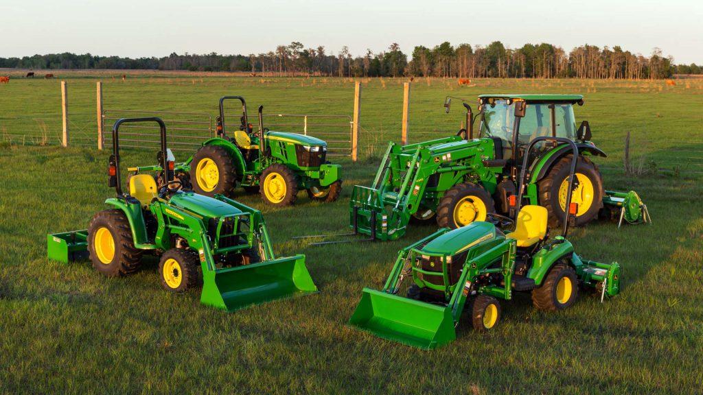 John Deere Tractors ROPS