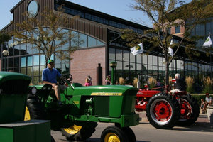 The antique equipment parade will feature models that were all constructed in 1970 or earlier.