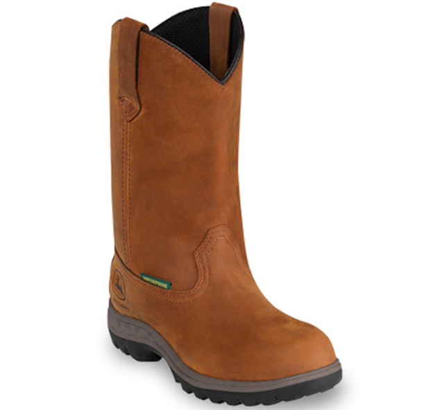 Tan John Deere Boot