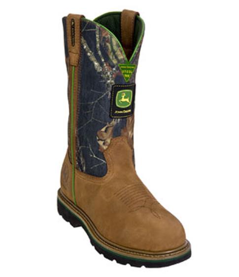 John Deere Western Work Boots