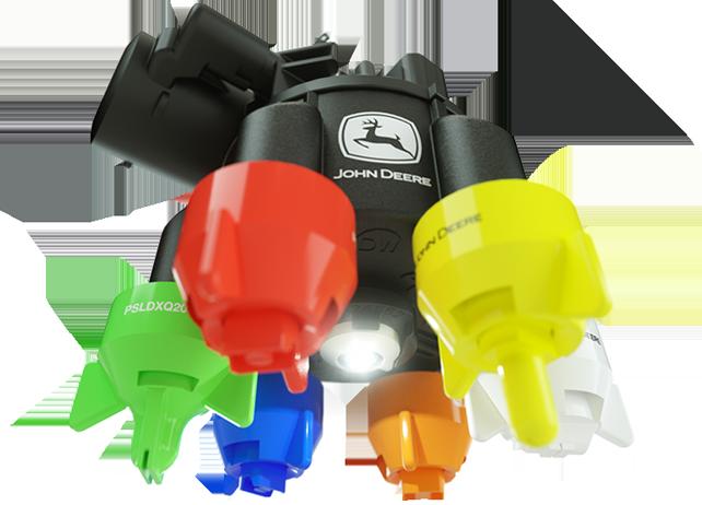 John Deere ExactApply Nozzle Control System